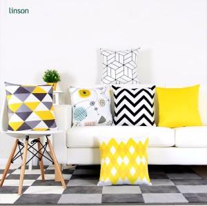 Wholesale Custom Printed velvet Cushion Cover Decorative sofa chair cushion cover