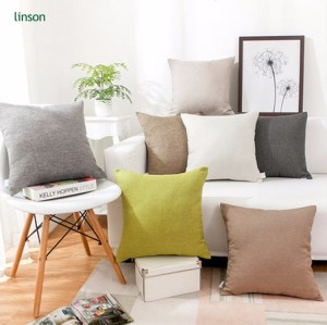 Latest design 100% silk soild color safa pillow velvet cushion cover