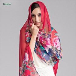 wholesale new style dubai fashion women printed muslim scarf hijab