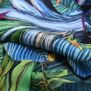 Custom design italian spring autumn colorful jacquard knitted fabric for Garment