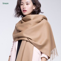 China factory new product custom solid color 100% cashmere scarf