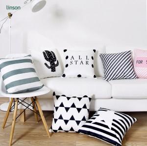 Wholesale Simple fashion velvet sofa cushion cover home decor