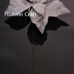 Handmade Christmas flowers
