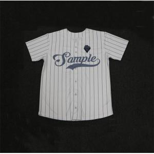 Vetical Striped Custom made baseball jersey