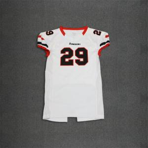 Custom American football jersey short sleeves