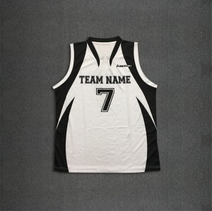 OEM sublimated basketball jersey