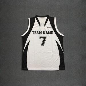 OEM sublimated basketball jersey