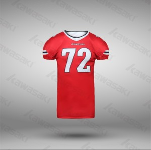 Sublimation custom american football uniforms