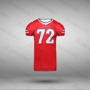 Sublimation custom american football uniforms