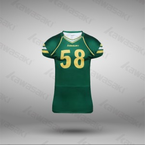 Sublimation american football jersey new model