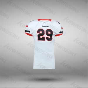 Design your own sublimated american football jersey