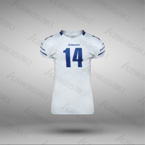 Sublimated american football uniforms custom wholesale from china