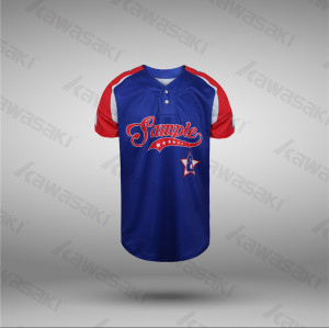 Customized Raglan Shirts Sublimated USA Flag Baseball Jerseys
