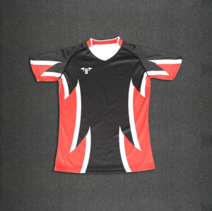 Wholesale high quality sublimation women rugby uniform cheap rugby shirt