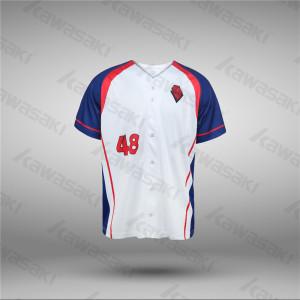 2017 latest design baseball jerseys classic sublimated baseball shirt