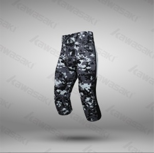 Custom camo american football compression wear pants