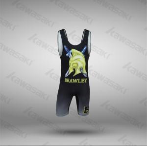 Custom made wrestling singlets best quality