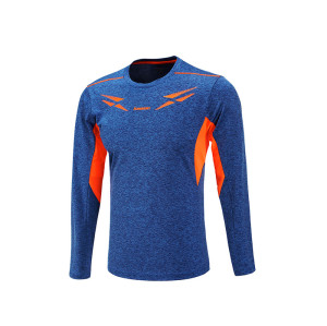 Man gym long sleeves shirt