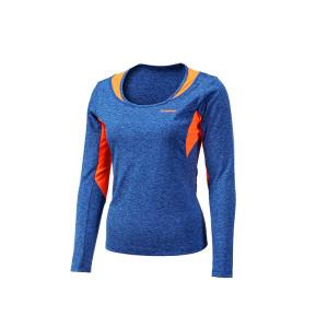 Womens long sleeves gym shirt