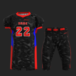 Custom american football uniform professional cut with insert pads