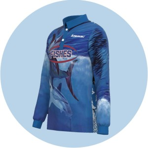 China custom high quality anti-uv fishing jersey