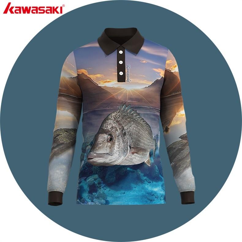 b5ec25616 china supply hunting fish polo jersey | Kawasaki & OEM