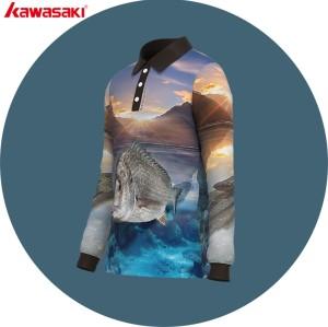 china supply hunting fish polo jersey
