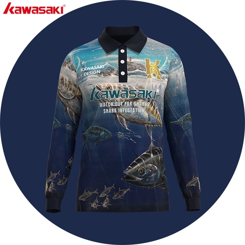dcbc516fa Digital sublimated uv tournament fishing jersey | Kawasaki & OEM