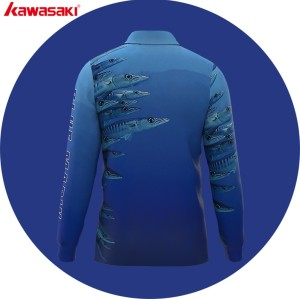custom dye sublimation team  fishing jersey