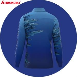 custom dye sublimation team  fishing jersey
