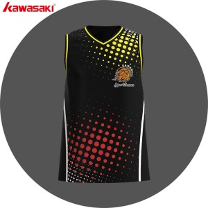 Custom make 100% polyester sublimated basketball jersey