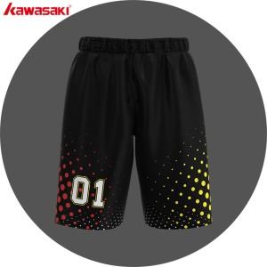 2019 latest design basketball uniform shorts factory