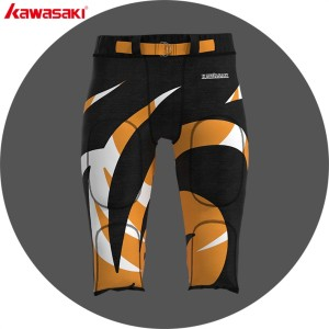 Custom make american football padded pants