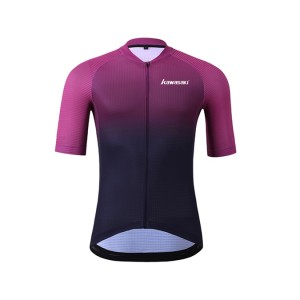 Cycling jersey with short sleeve