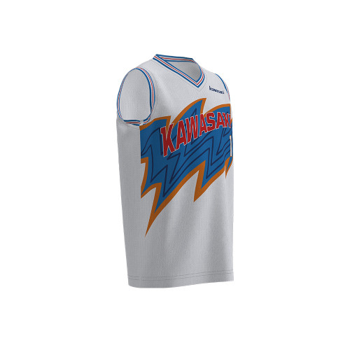 Custom rib basketball tops