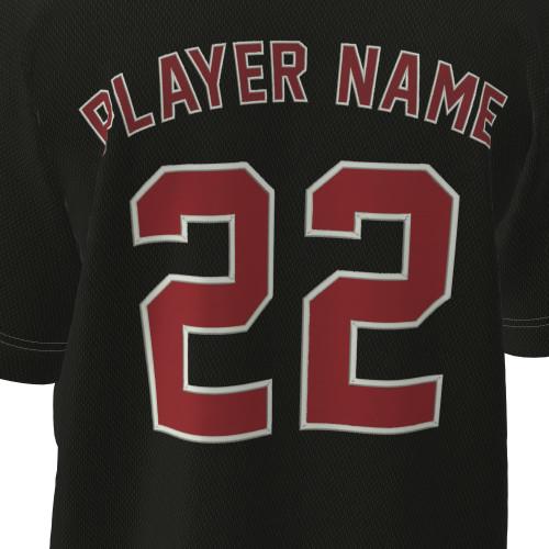Tackle twill fashion baseball jersey