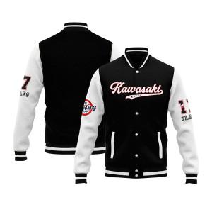 KAWASAKI Own Design Letterman Baseball Jackets | Custom Letterman Jackets