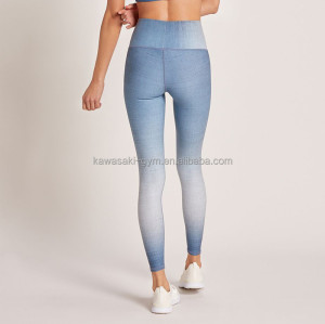 Custom high waisted workout yoga leggings fitness