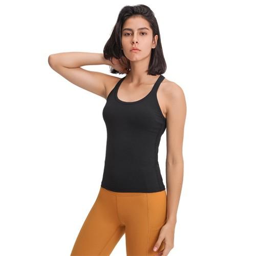 OEM Yoga shirts Custom Workout Tops for women