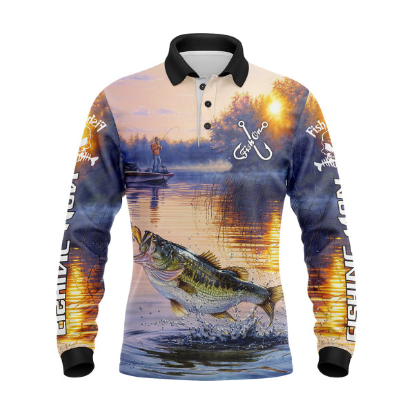 Hot Selling Quick Dry Fishing Jersey Sublimation Fishing Wear