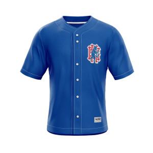 Sublimation custom wear baseball uniform tops and shorts quality team wear baseball uniform