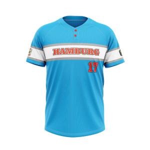 wholesale hot sale full sublimation team sportswear baseball uniform Custom baseball T-shirts jersey