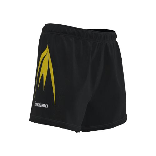 Sublimated woven rugby shorts