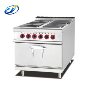 Electric cooking stove 4 burner hot plate with oven