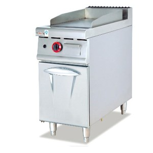 Commercial Gas/Electric Griddle With Cabinet