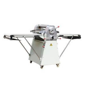 commercial restaurant freestanding pizza pie dough sheeter