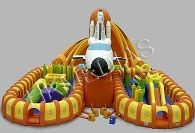 Inflatable Fun City/ amusement park
