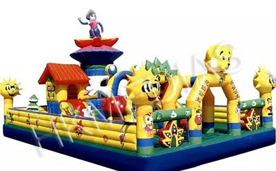 Inflatable Fun City/ amusement park