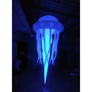 inflatable lighting medusa decoration