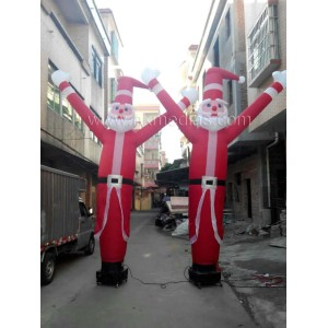 Santa Claus air dance